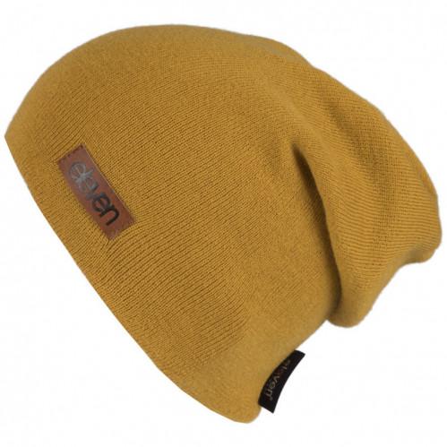 Kapa pletena Eleven L - Mustard