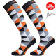 Kompresijske nogavice Triangle Orange