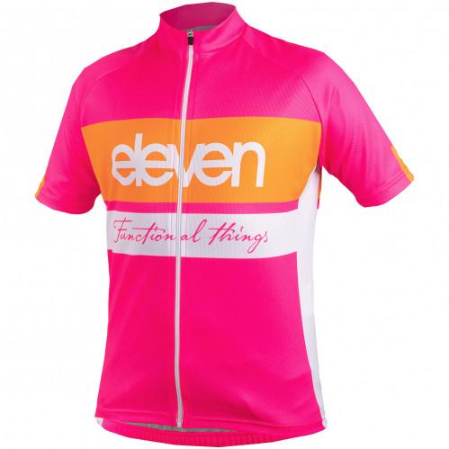 Otroški kolesarski dres Eleven Hor Pink