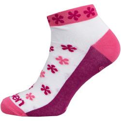 Nogavice ELEVEN LUCA Flower Pink