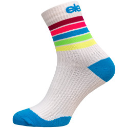 Kompresijske nogavice ELEVEN Strada Stripe White